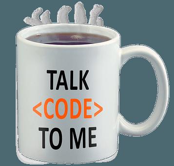Talk Code To Me Mug